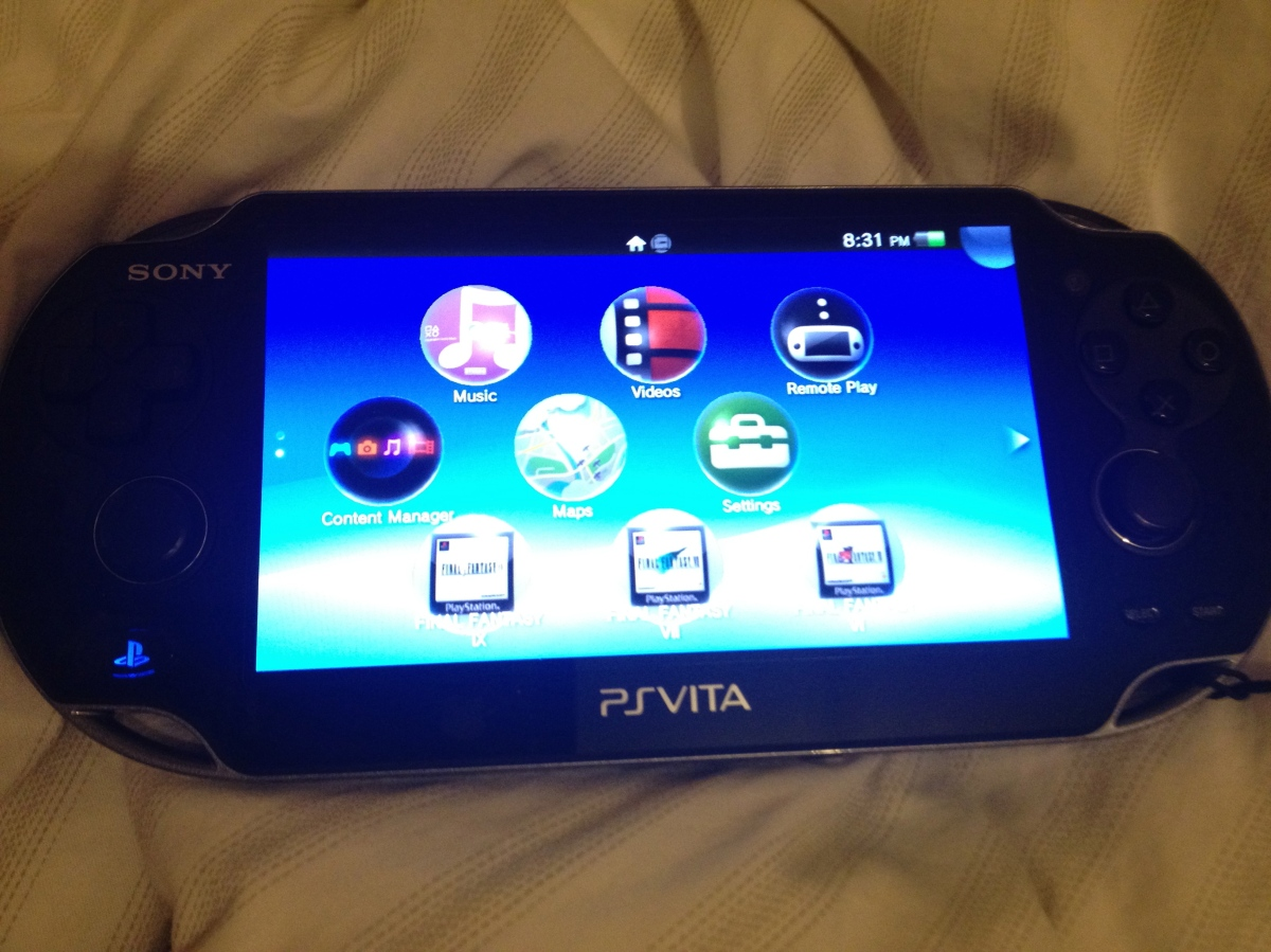 I can finally play Final Fantasy 6,7,9 on my PS Vita