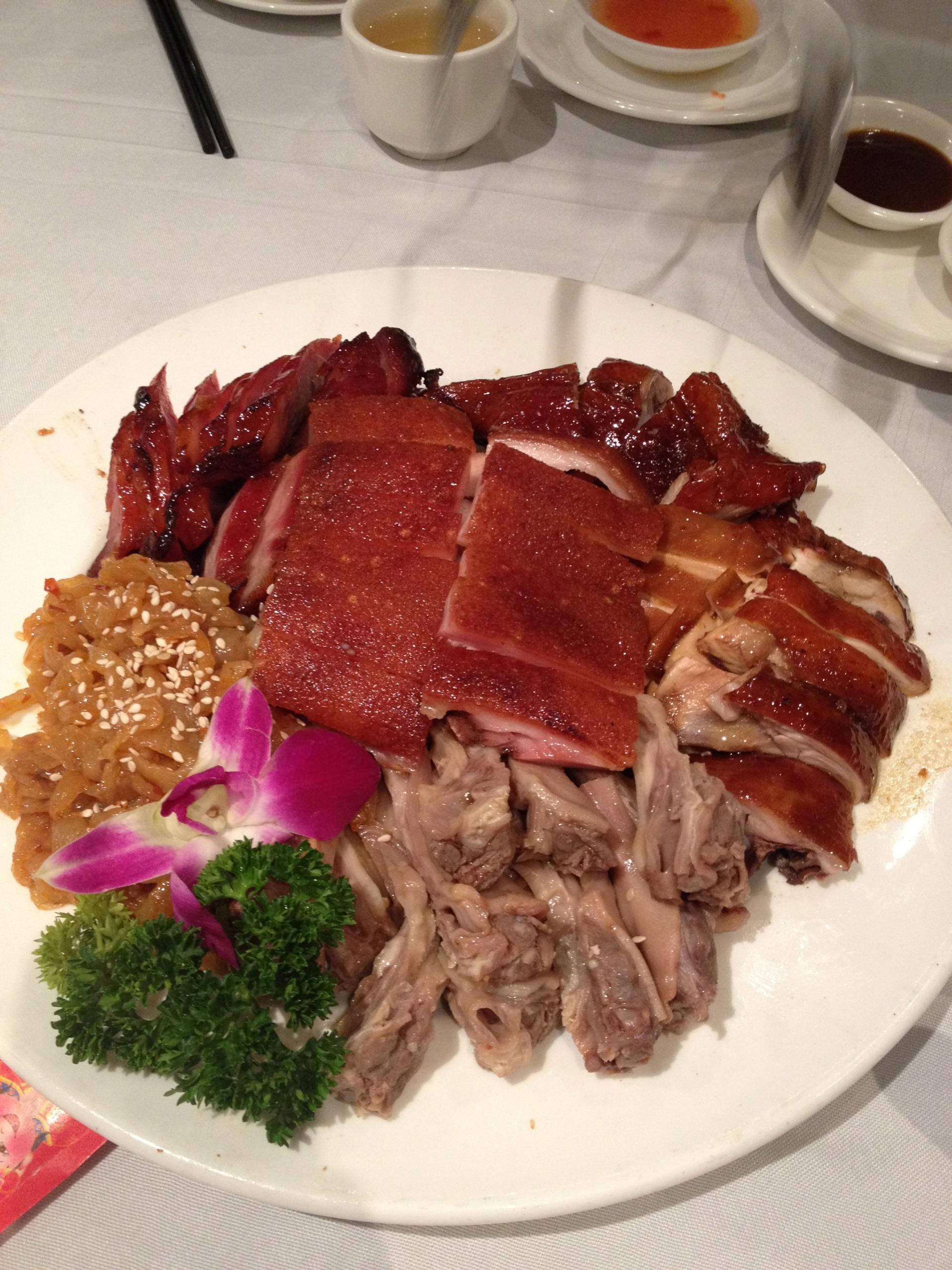 Iron Chef BBQ Platter