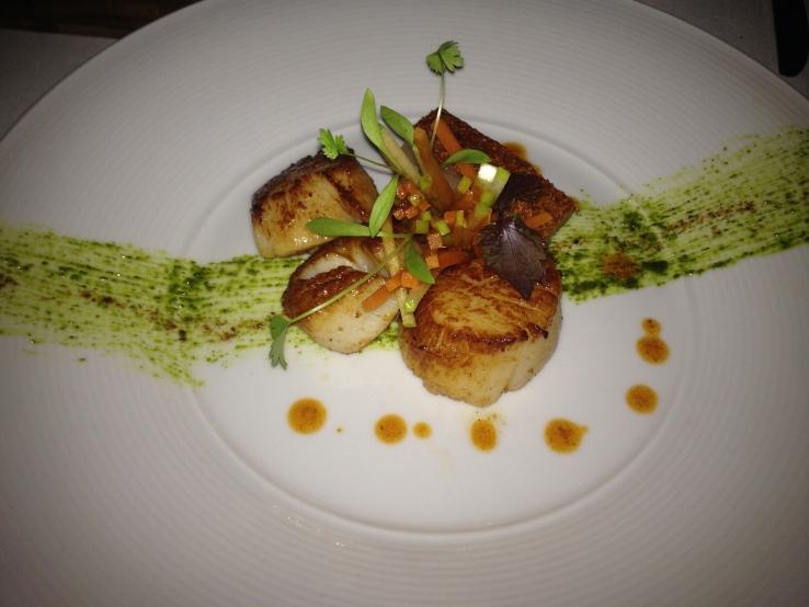 Prime Restaurant - Scallop Entre